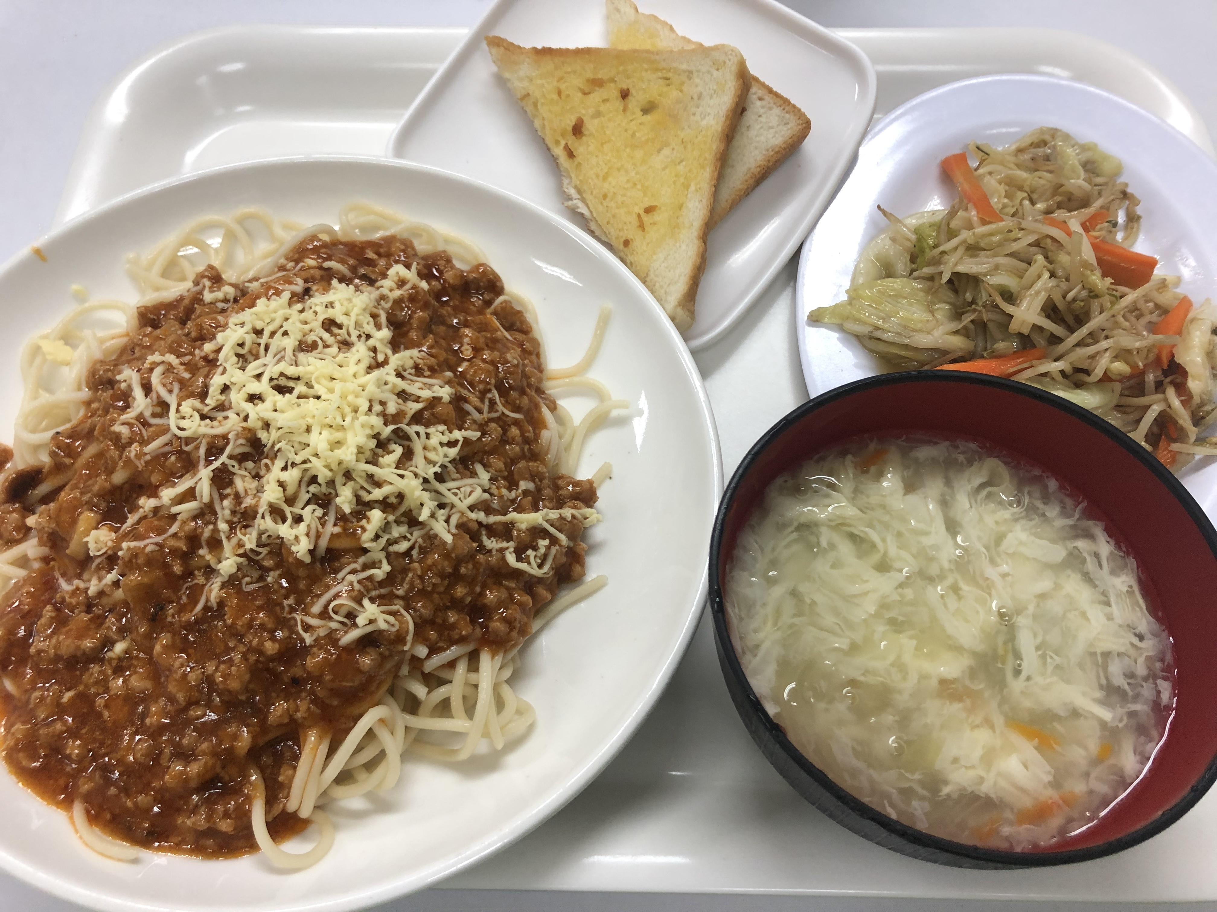 2018年11月5週目と12月1週目のお食事紹介