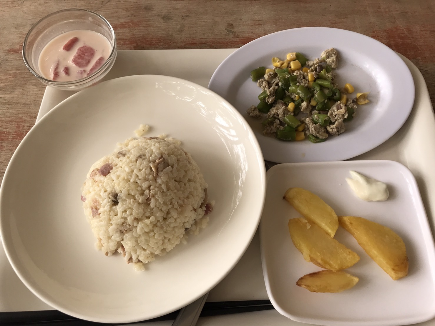 2019年2月5週目と3月1週目のお食事紹介