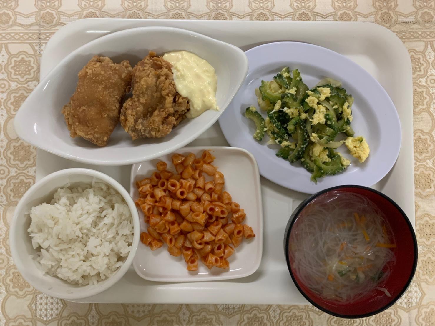 2019年10月3週目と4週目のお食事の紹介